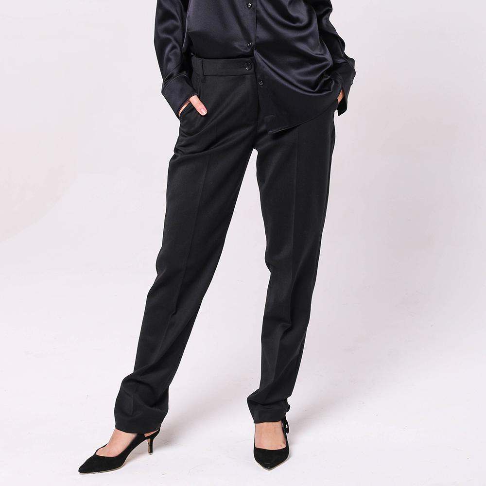 Черные брюки Emporio Armani со стрелками
