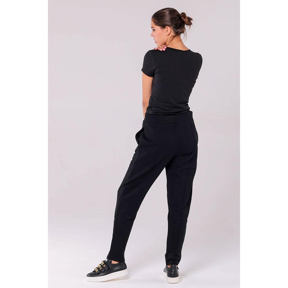 Трикотажные брюки Kenzo черного цвета