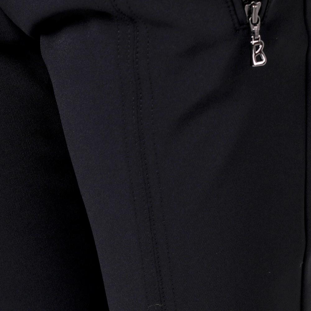 Черные брюки Bogner с карманами на молнии