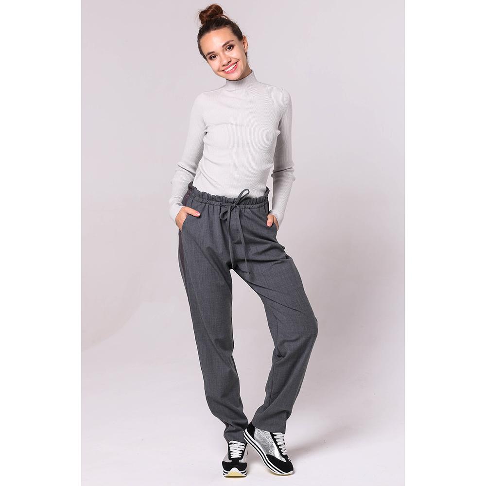 Спортивные брюки Bogner серого цвета на резинке