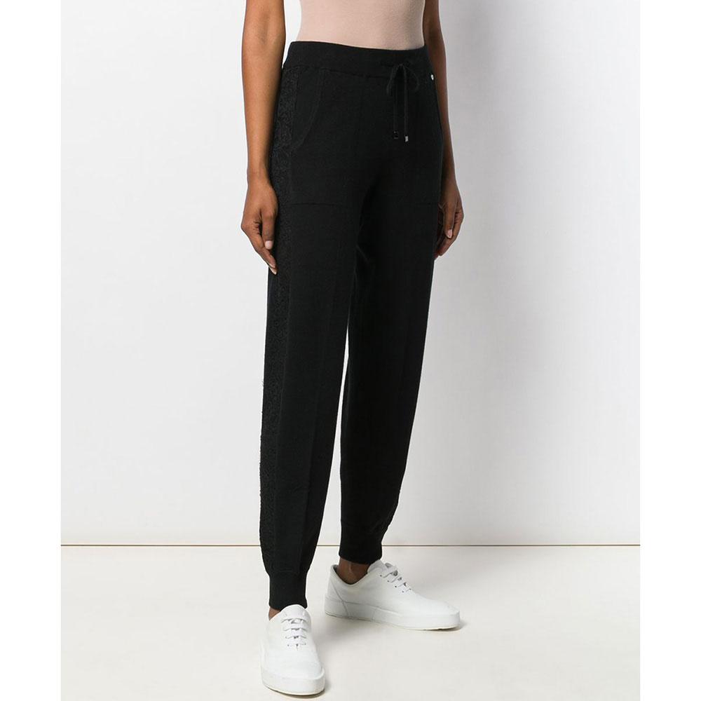 Спортивные брюки Twin-Set с кружевными лампасами