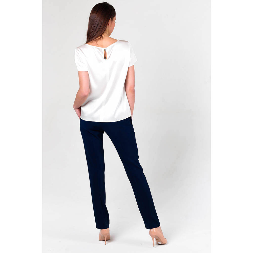 Синие брюки Twin-Set классические