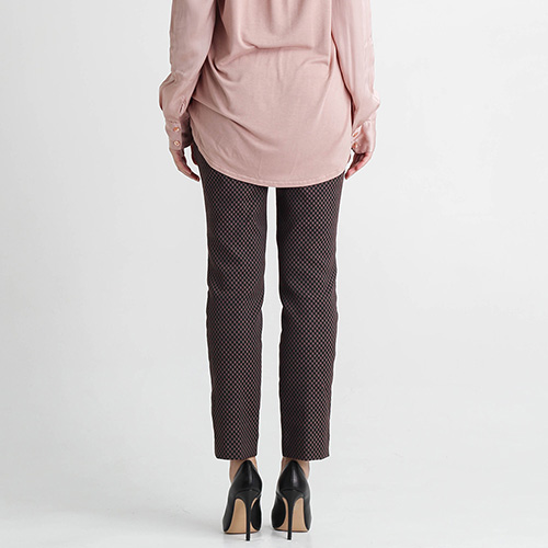 Укороченные брюки Nenette из жаккарда, фото