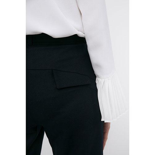 Темно-синие брюки Shako с высокой талией, фото