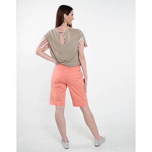 Длинные шорты Cerruti оранжевого цвета, фото
