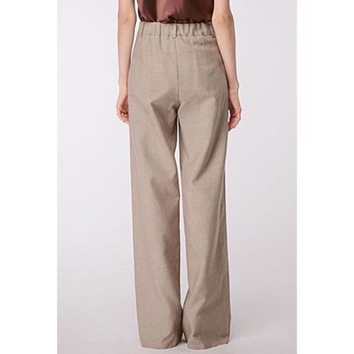 Широкие брюки Shako из льна, фото