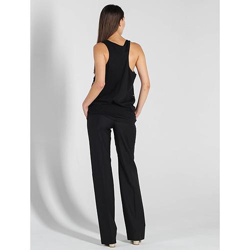 Черные прямые брюки Antonio Berardi со стрелками, фото