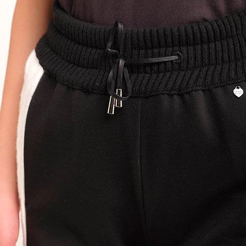 Спортивные брюки Twin-Set с вязаными лампасами, фото