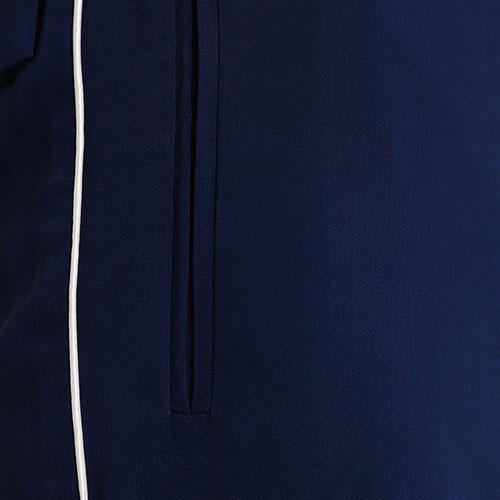 Синие брюки Twin-Set с лампасами, фото