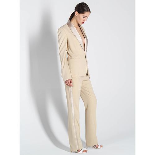 Классические брюки Polo Ralph Lauren с атласными лампасами, фото
