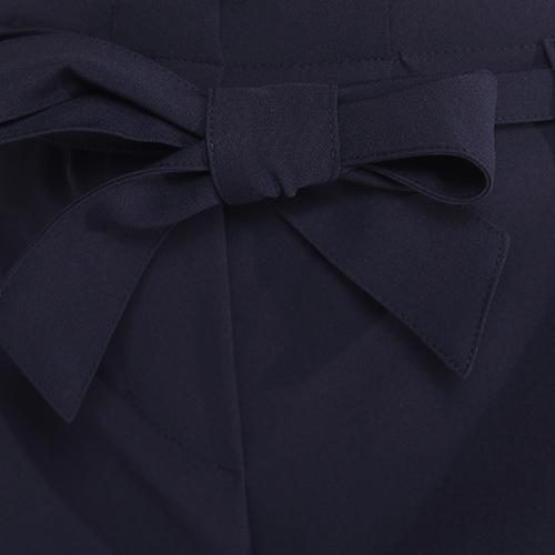 Шорты синие Blugirl Blumarine с поясом, фото