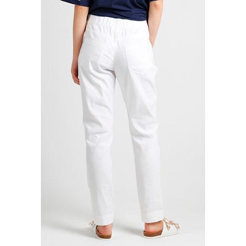 Белые брюки Sportalm с лампасами, фото