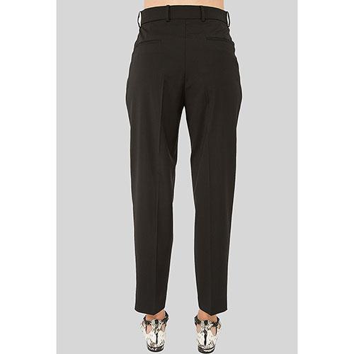 Черные брюки N21 со стрелками, фото