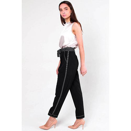 Зауженные брюки Ermanno Scervino с поясом, фото