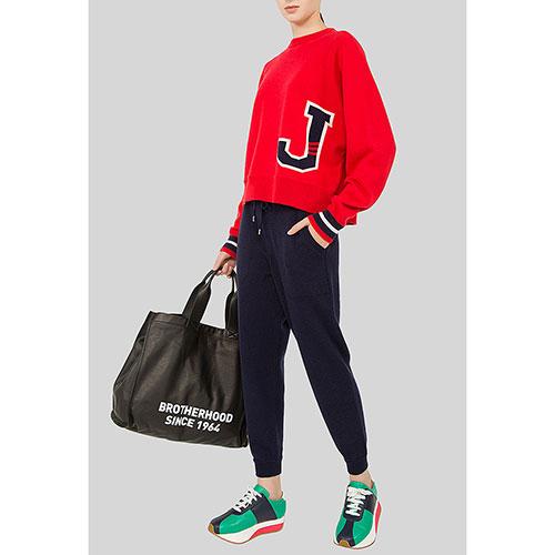 Укороченные брюки MRZ синего цвета, фото