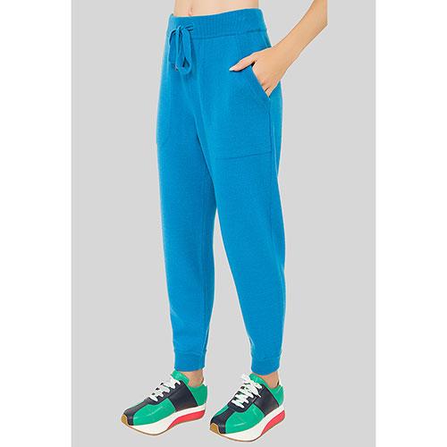 Голубые брюки MRZ по косточку, фото