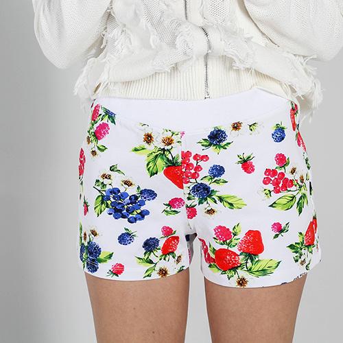 Цветные короткие шорты Love Moschino, фото