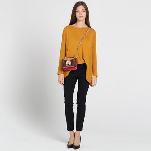 Черные узкие брюки Blugirl Blumarine, фото