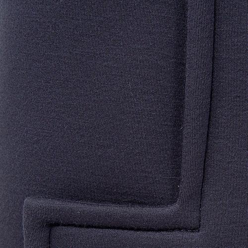 Брюки клеш N21 синего цвета со стрелками, фото