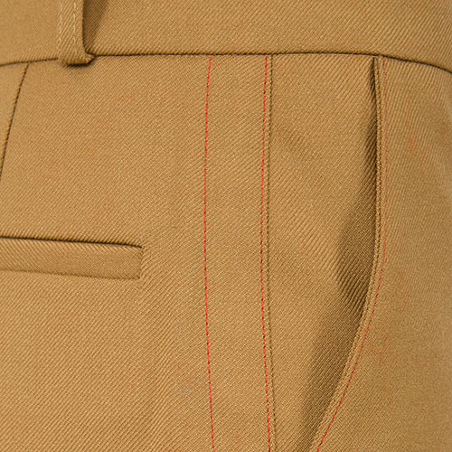 Брюки Marni коричневые с высокой посадкой, фото