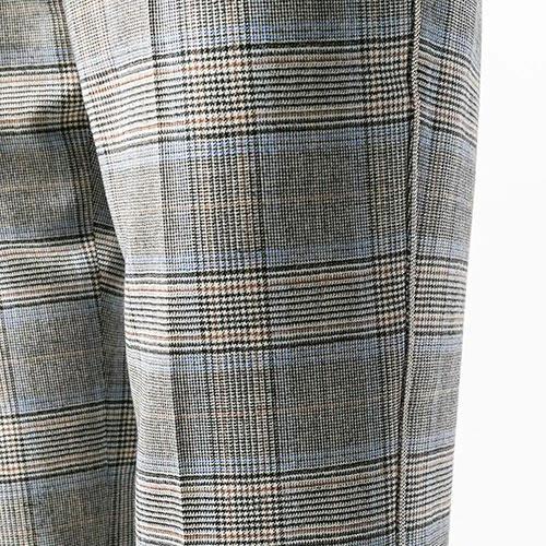 Клетчатые брюки Peserico на резинке, фото