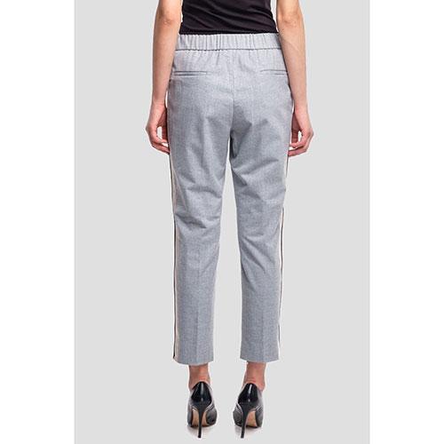 Серые брюки Peserico на завязках, фото