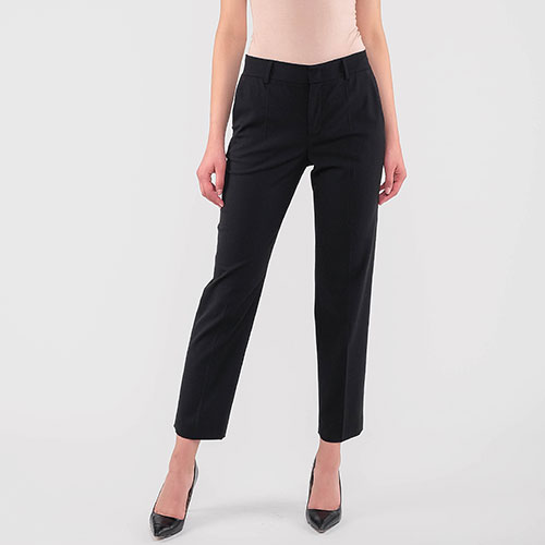 Черные брюки Red Valentino со стрелками, фото