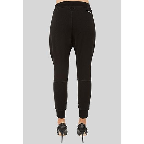 Черные брюки Dsquared2 укороченные, фото