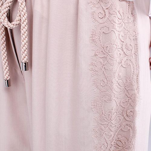 Широкие брюки Blumarine бежевого цвета, фото