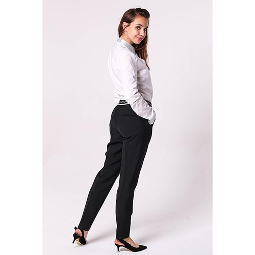 Черные брюки Ermanno Scervino со стрелками, фото