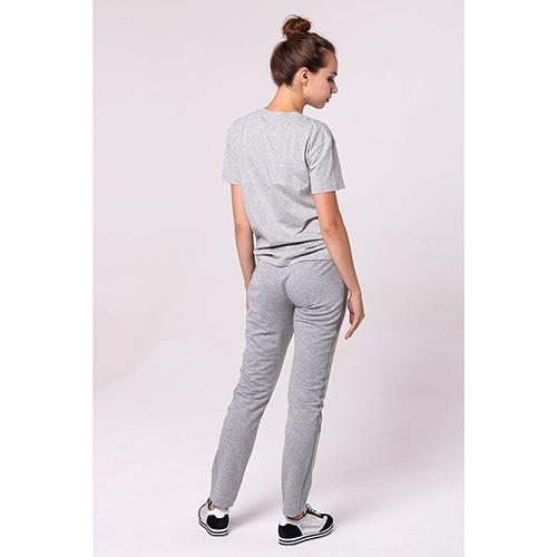 Спортивные брюки Bogner серого цвета с лампасами, фото