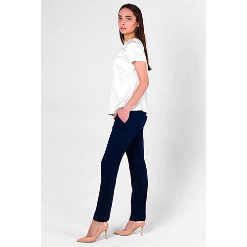 Синие брюки Twin-Set классические, фото