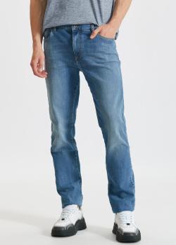 Мужские джинсы Paul&Shark голубого цвета, фото