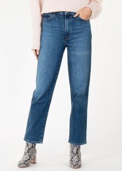 Укороченные джинсы J Brand в синем цвете, фото