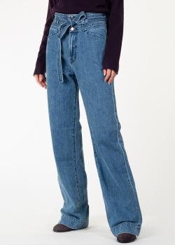 Расклешенные джинсы J Brand с поясом, фото