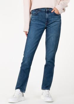 Прямые джинсы J Brand синего цвета, фото