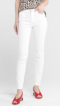 Узкие джинсы Seventy белого цвета, фото
