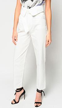 Белые джинсы Pinko с высокой талией, фото