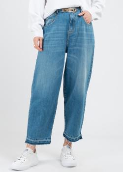 Широки джинсы Pinko с фирменным поясом, фото