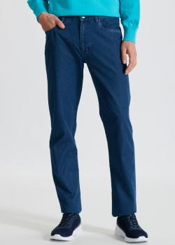 Синие джинсы Paul&Shark прямого кроя, фото