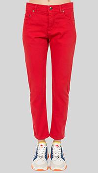Красные джинсы N21 прямого кроя, фото
