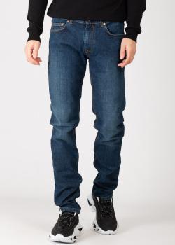 Прямые джинсы Harmont&Blaine синего цвета, фото