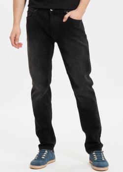 Прямые джинсы Fred Mello черного цвета, фото