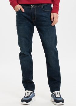 Прямые джинсы Fred Mello темно-синего цвета, фото