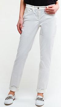 Прямые джинсы Airfield белого цвета, фото