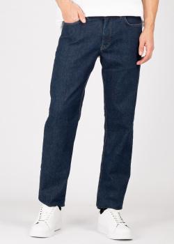 Прямые джинсы Fynch-Hatton темно-синего цвета, фото