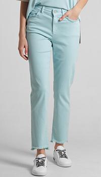 Прямые джинсы Riani голубого цвета, фото