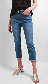 Синие джинсы Riani с бахромой, фото