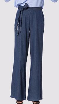 Расклешенные джинсы Silvian Heach с поясом, фото