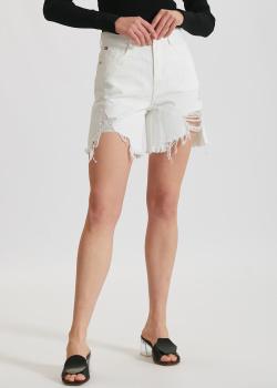 Джинсовые шорты Miss Sixty с необработанным краем, фото